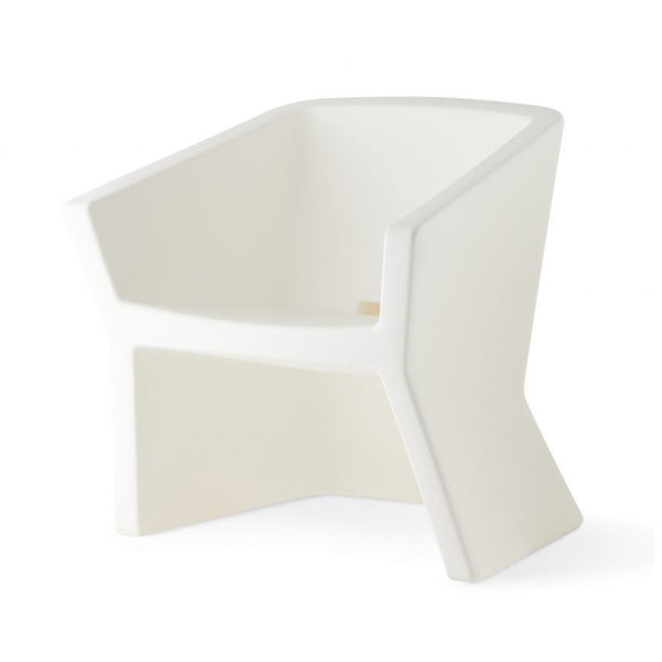 slide exofa lounge chair for outdoors - white | shop online ikonitaly