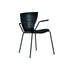 slide gloria chair for outdoors - black | shop online ikonitaly