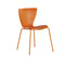 slide gloria chair for outdoors - orange | shop online ikonitaly