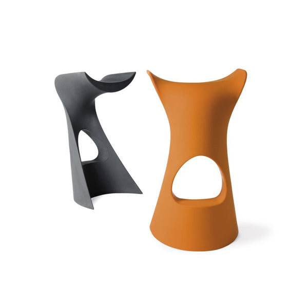 slide koncord stool for outdoors - grey&orange | shop online ikonitaly