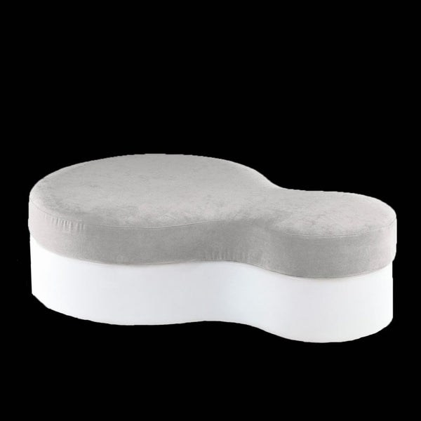 slide nuvola pouf for outdoors illuminated white | shop online ikonitaly
