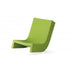 slide twist lounge chair for outdoors - green | shop online ikonitaly