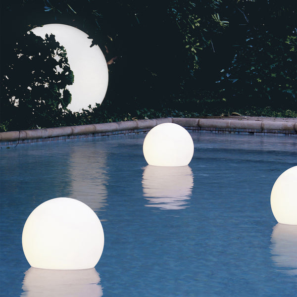 slide 1/2 globo floating sphere pool light | ikonitaly