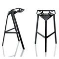 magis stool one medium black - designer konstantin grcic | shop online ikonitaly
