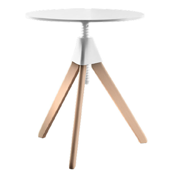 magis topsy height adjustable table - white tabletop | ikonitaly