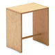 zanotta sgabillo wooden stool