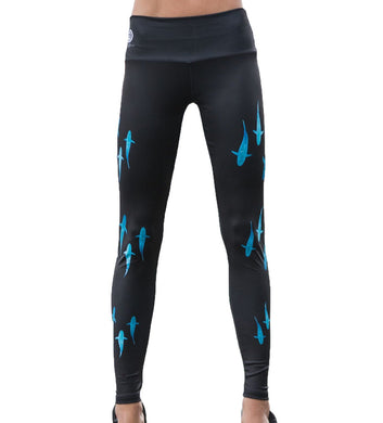 Lady Shark Full Length Leggings