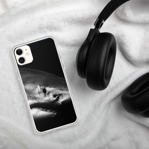 Shark Face iPhone Case. Great White shark photo by @juansharks