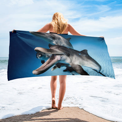 Dolphin Tongue Towel. Made from a photo by @JaunSharks