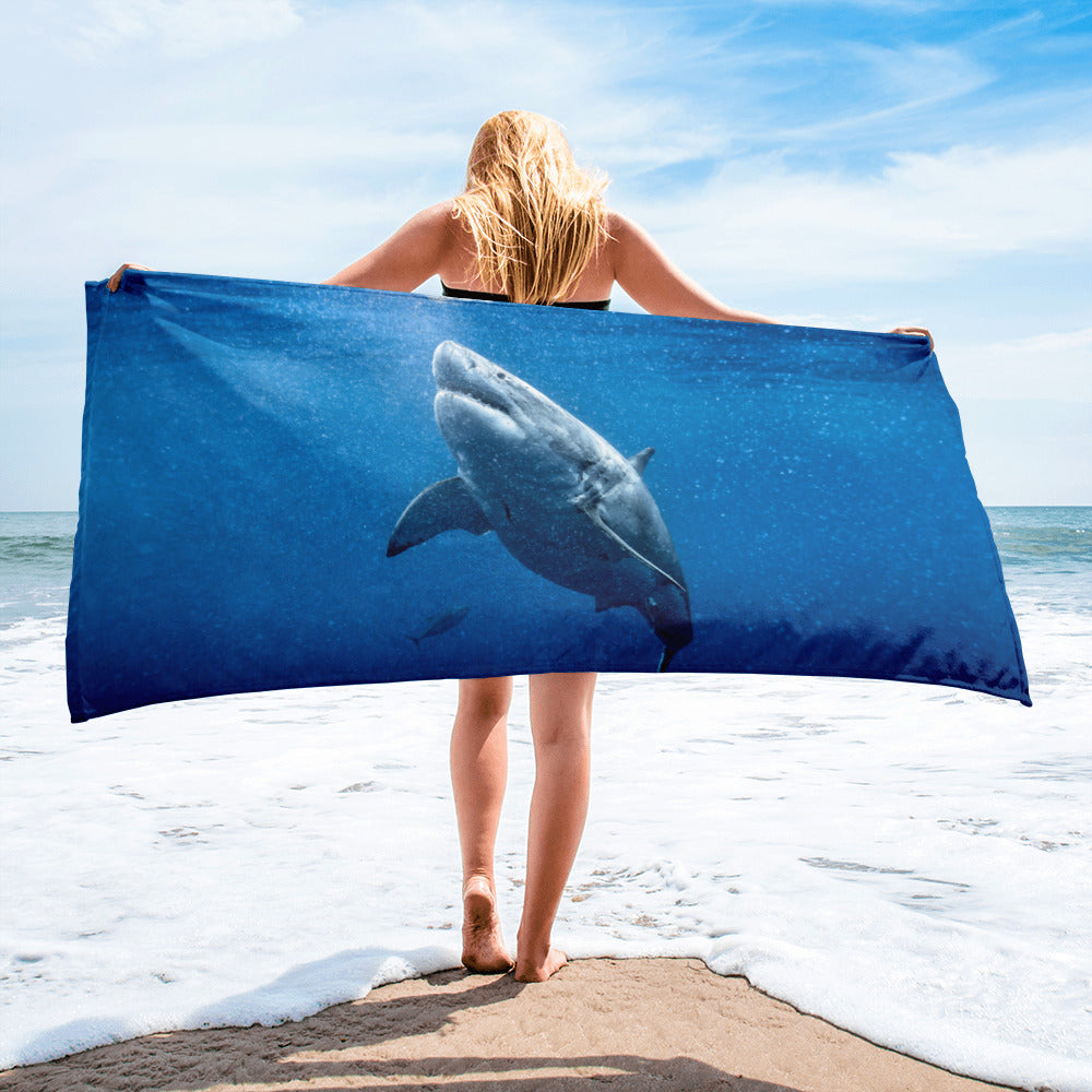 Great White Holiday Towel