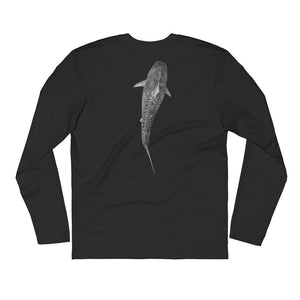@JuanSharks Signature Tiger Shark Long Sleeve Fitted Crew