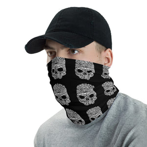 Save marine Life Skull Face Cover / Neck Gaiter