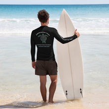 Benefit design for the Conservation Team Unisex sizing Rash Guard, Join us!