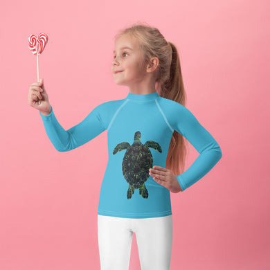 Sea Turtle Honu Kids Rash Guard