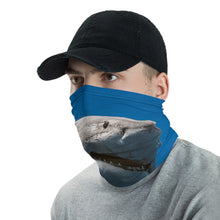 Great White Smile Face Cover/Neck Gaiter