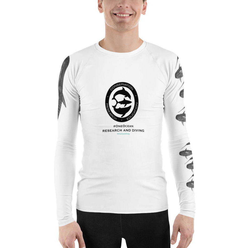 Men's Shark Research Team Rash Guard