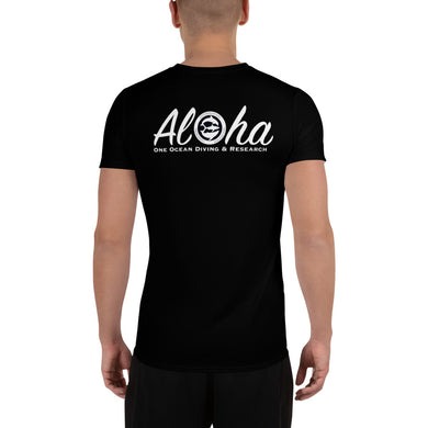 Aloha Aloha One Ocean Team Men's Athletic T-shirt