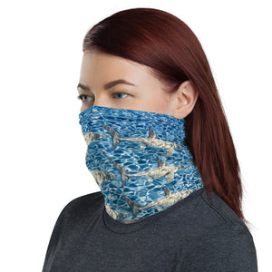 Shark Water Face Cover / Neck Gaiter