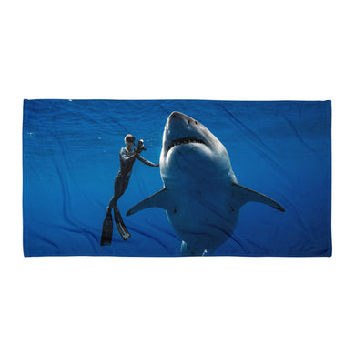 HelpSaveSharks Towel