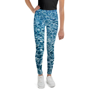 #SaveTheOcean Ocean Young Adult Teen Youth Leggings