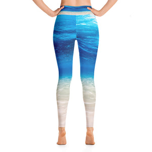 Ocean Yoga Leggings