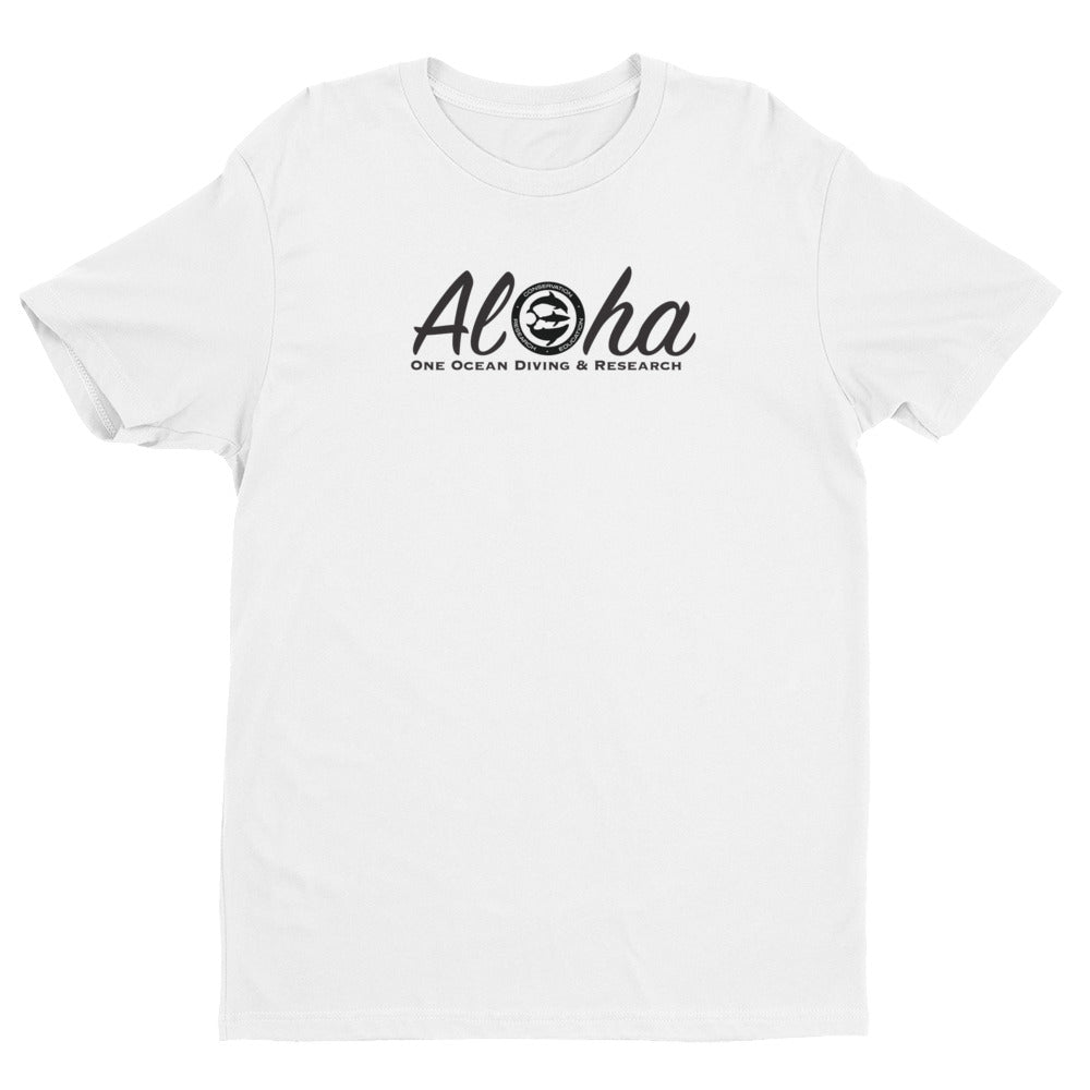 Aloha Hawaii Great White Shark Short Sleeve T-shirt