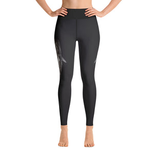 Tiger Shark High Waisted Yoga Leggings