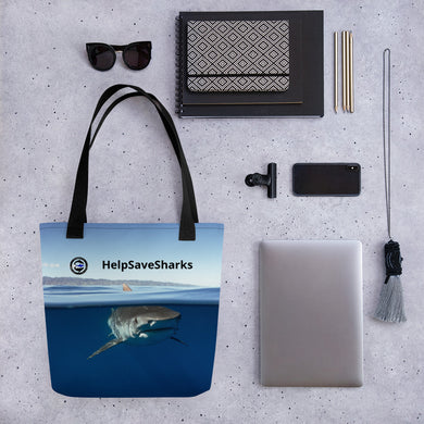 HelpSave Sharks Tote bag