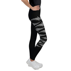 Moana Tiger Shark Youth Leggings
