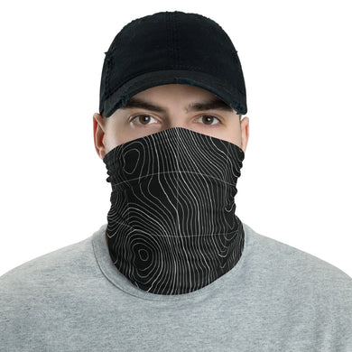 Bathymetry Face Shield / Neck Gaiter / Face Cover