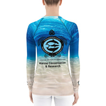 Save The Sea Turtles International Women's Rash Guard Marine Conservation & Research Women's Rash Guard
