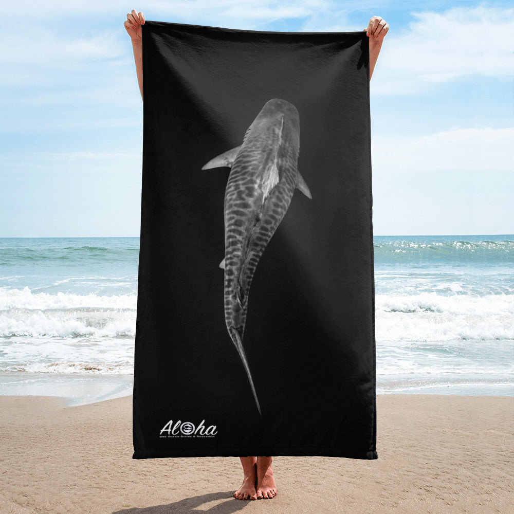 Tiger Shark Aloha Towel