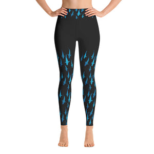 Lady Shark Yoga Leggings