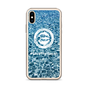 #SaveTheOcean iPhone Case