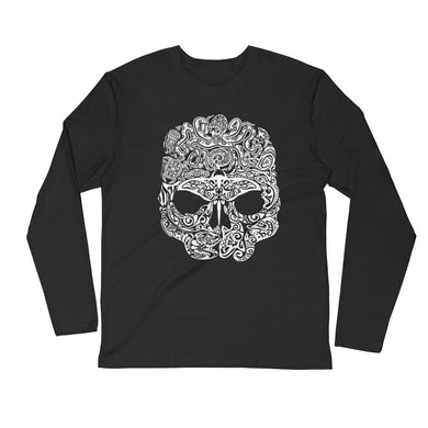 Skull Ocean JuanSharks Long Sleeve Fitted Crew
