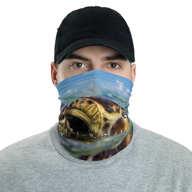Turtle Over Under Face Cover/ Neck Gaiter