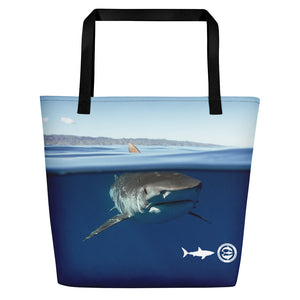 Over Under Tiger Beach Bag