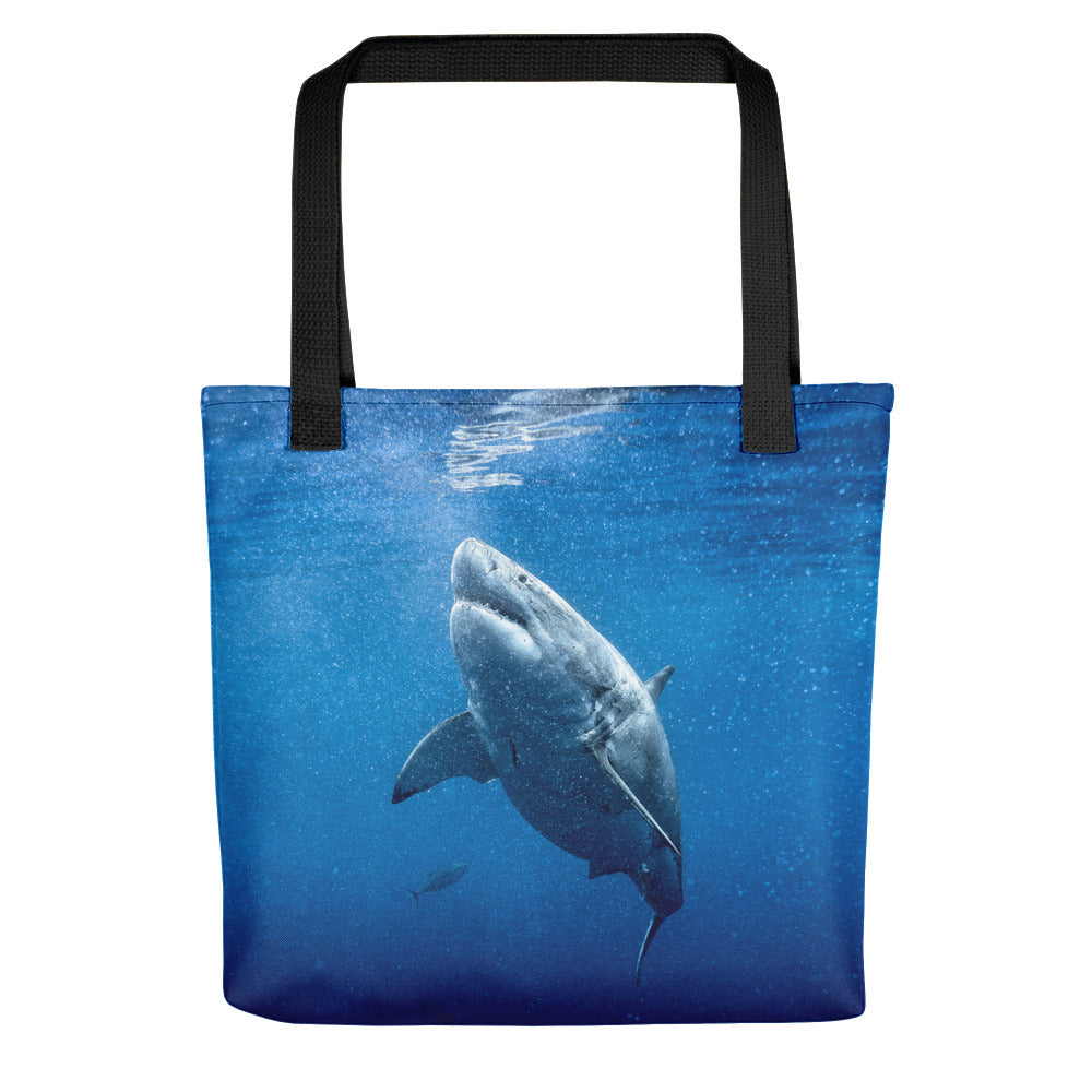Great White Reusable Tote bag