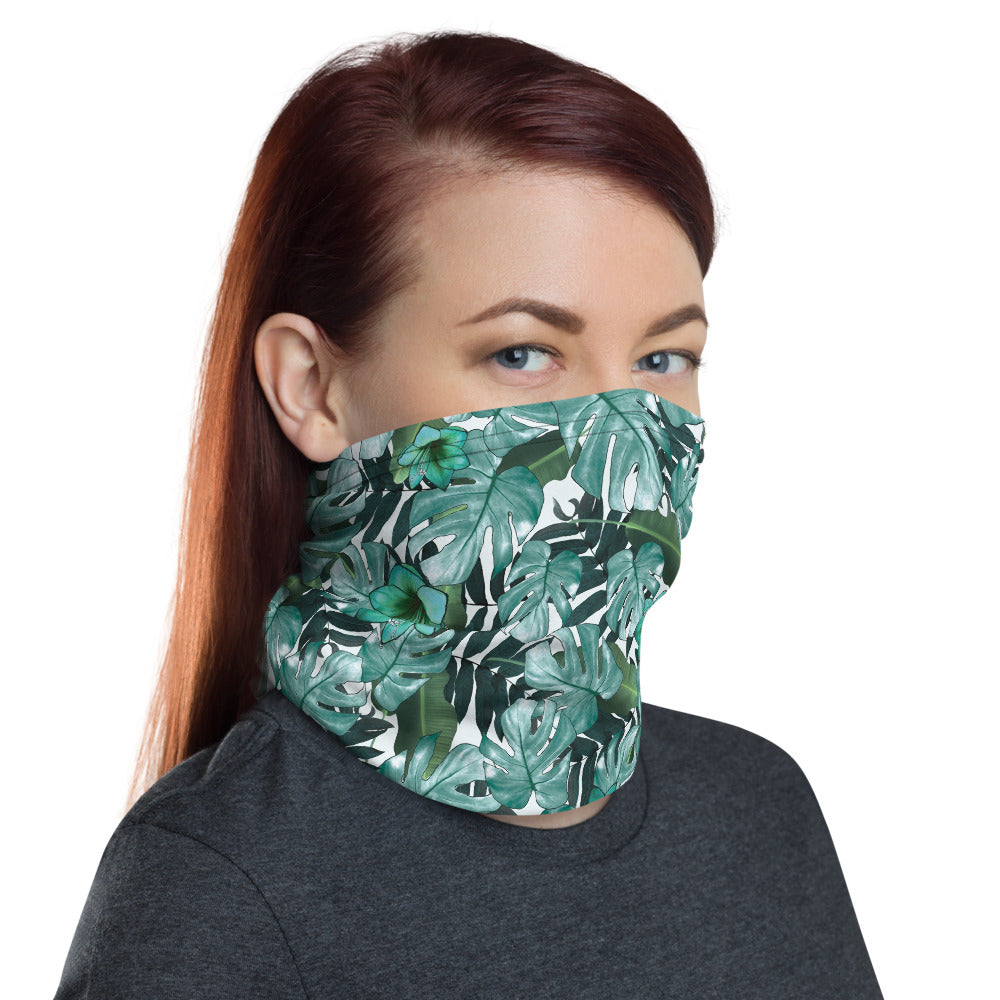 Tropical Leaf Neck Gaiter