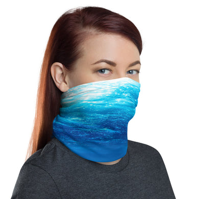 Underwater beach face cover / neck gaiter