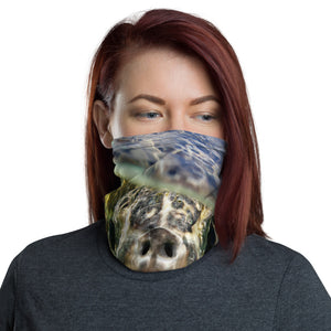 Turtle! Save The Sea Turtles International benefit face cover / Neck Gaiter