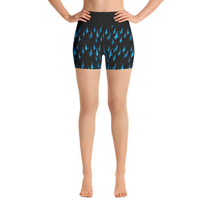 Lady Shark Yoga Short Shorts