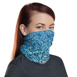 Water Face Cover. Ocean Face Cover. Save The Ocean / Save The World. Neck Gaiter