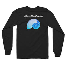 Nautilus Unisex #SaveTheOcean Long sleeve t-shirt