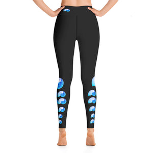"Nautilus ""Be Unique"" Yoga Leggings"