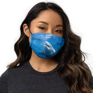 Great White Shark Premium face mask