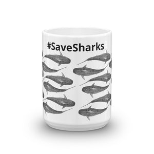 Tiger shark #SaveSharks Mug