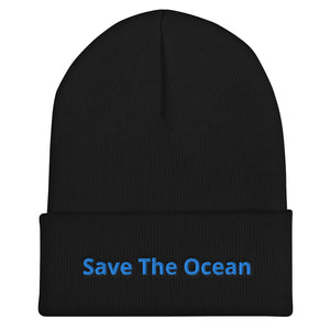 Save The Ocean Cuffed Beanie