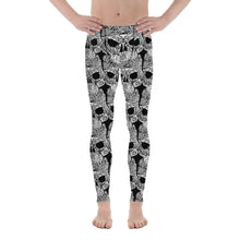 Marine Life Skull Tattoo Men's Dive Rashguard Pants