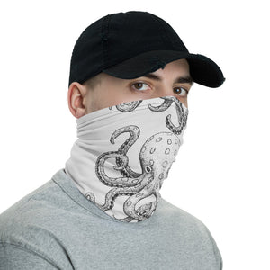 Octopus Intrigue Face Cover / Neck Gaiter